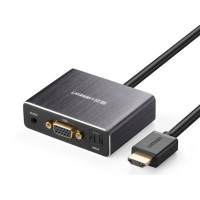 Cáp HDMI to VGA+Audio+Spdif Ugreen 40282