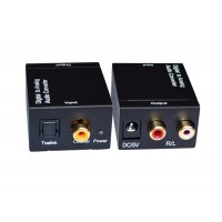 Audio Converter Digital to Analog Audio R/L EKL-DAA