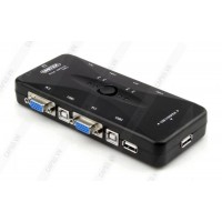 SWITCH KVM USB 4-1 UNITEK U-8710