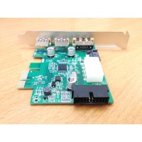 Card PCI-E to USB3.0+Esata Power+20pin