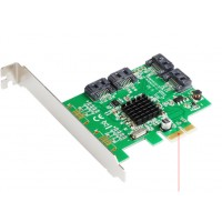 Card PCI-E to Sata III 4 port IOCrest