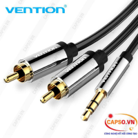 Cáp Audio 3.5mm ra 2RCA dài 1.5m Vention BCFBG