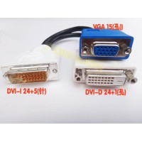 Cáp chia DVI Female to DVI Male + Vga